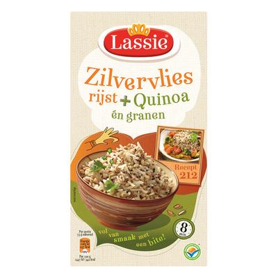 Lassie Zilvervliesrijst quinoa-granen