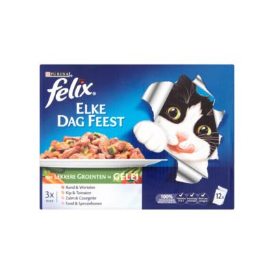 Felix Elke Dag Feest met Lekkere Groenten in Gelei