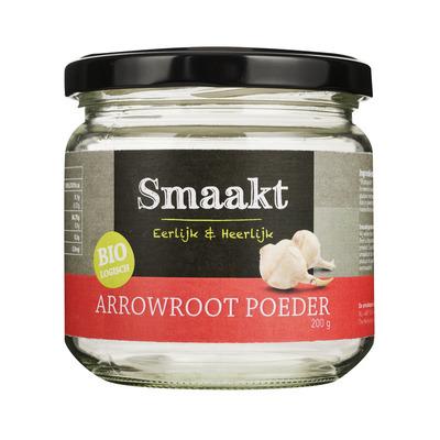 Smaakt Arrowroot poeder