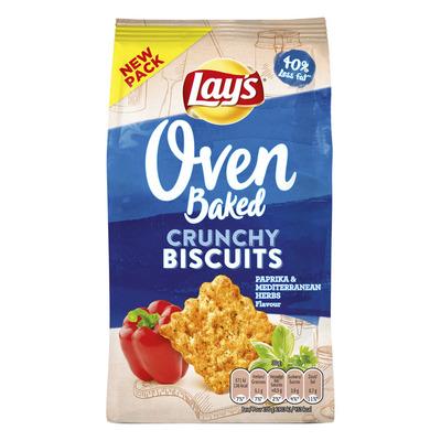 Lay's Oven biscuit paprika mediterranean herbs