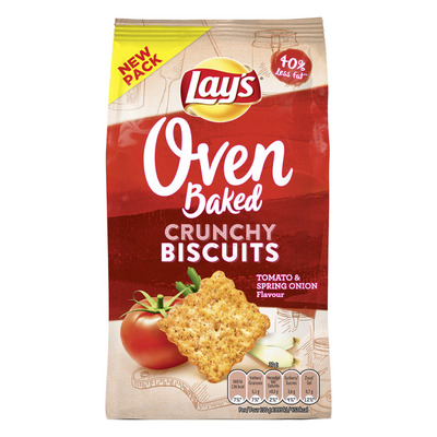 Lay's Oven biscuits tomato-spring onion