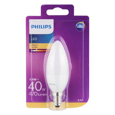 Philips Led warm white E14 40W 470 lumen