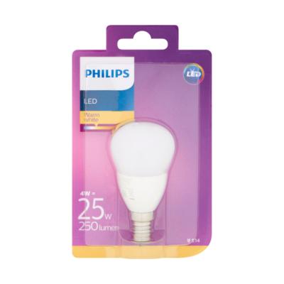 Philips LED Lamp Warm White 4W E