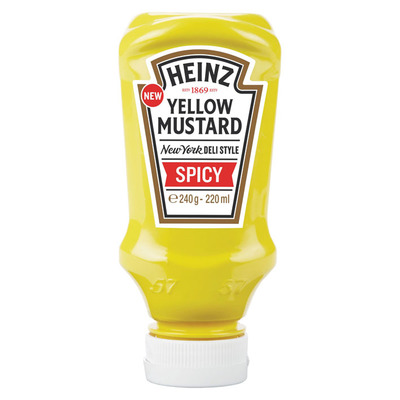 Heinz Yellow mustard spicy