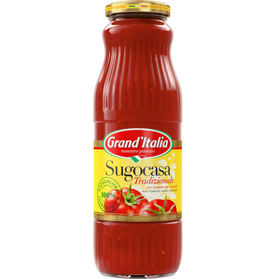 Grand'Italia Sugocasa tradizionale pastasaus
