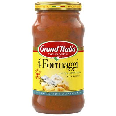 Grand'Italia 4 formaggi pastasaus