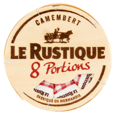 Le Rustique Camembert portions