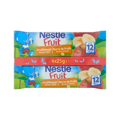Nestlé® Baby FruitReepje Banaan-Appel van 12 tot 36 Maanden