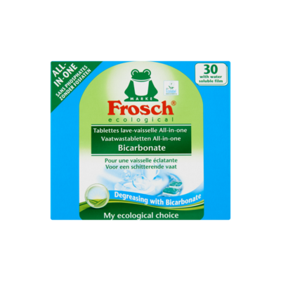 Frosch 30 Vaatwastabletten All-in-One Bicarbonate
