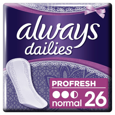 Always Dailies profresh normal inlegkruisjes
