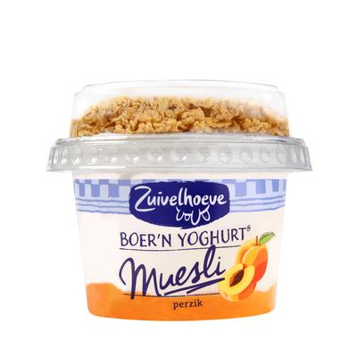 Zuivelhoeve Boer'n Yoghurt® Muesli Perzik