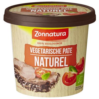 Zonnatura Vegetarisch paté naturel