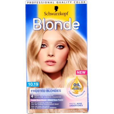Schwarzkopf Blonde  Frosted Blonde sNr 10.19