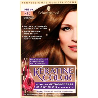 Schwarzkopf kératine color 7.0 donkerblond