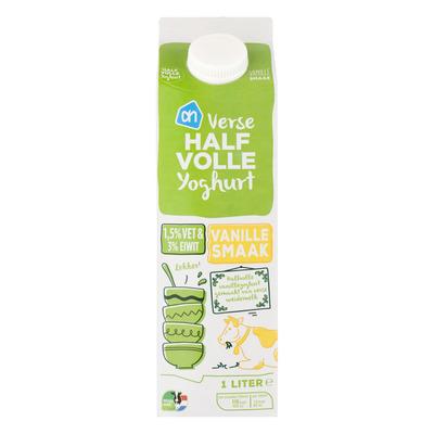 Huismerk Halfvolle vanilleyoghurt