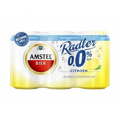 Amstel Radler 0.0 Bier Citroen Koud Blik