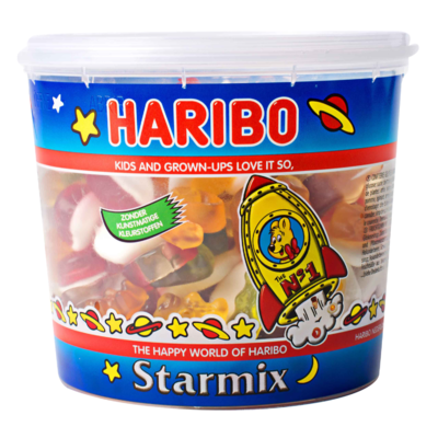 Haribo Starmix silo