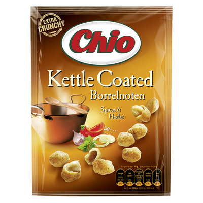 Chio Kettle coated borrelnoten spices & herbs