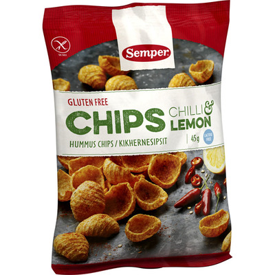 Semper Chips chilli & lemon glutenvrij