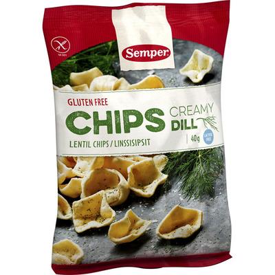 Semper Chips creamy dill glutenvrij
