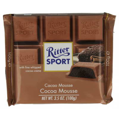 Ritter Sport Cacao mousse
