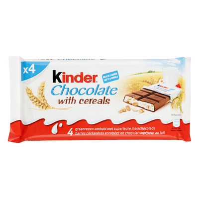 Kinder Chocolate with cereals graanrepen
