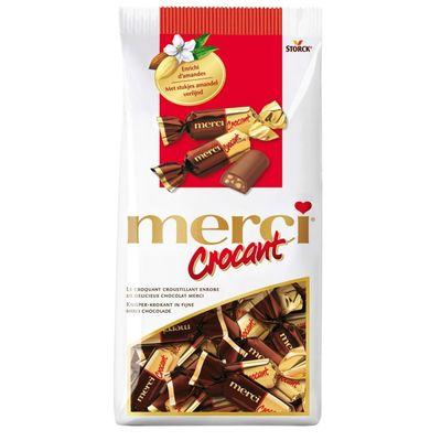 Merci Crocant, Melkchocolade Met Hazelnoot-caramelvulling 200 Gram