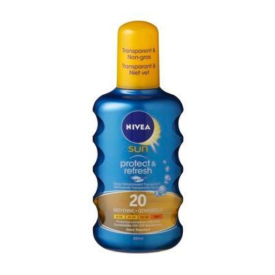 Nivea Sun SPF 20 Invisible Protection Zonnebrand Spray