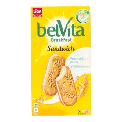 Liga Belvita ontbijtbiscuit Duo Yoghurt