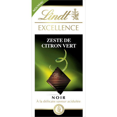 Lindt Excellence lime intense