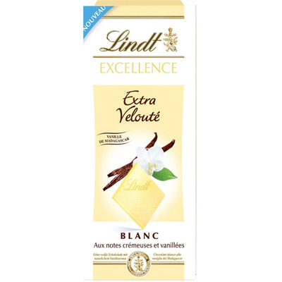 Lindt Excellence vanille wit
