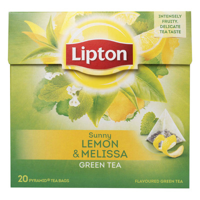 Lipton Green tea lemon-melissa