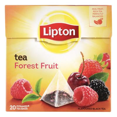 Lipton Zwarte thee forest fruit