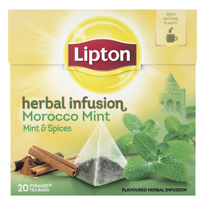 Lipton Kruiden infusie morocco mint