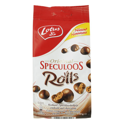 Lotus Speculoos rolls