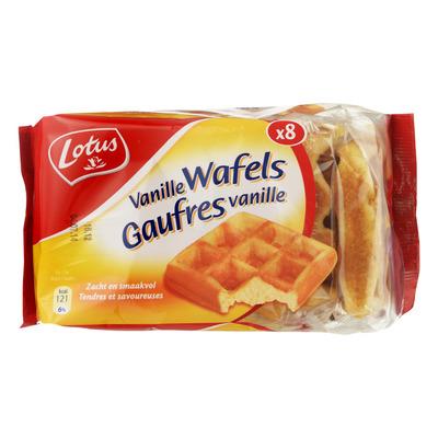Lotus Vanille wafels 8 stuks
