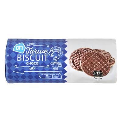 AH Chocolade tarwe biscuit melk