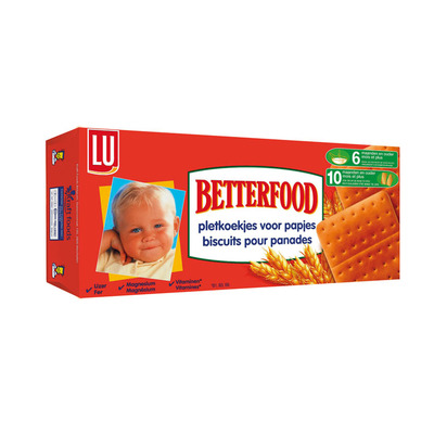 LU Betterfood pletkoekjes