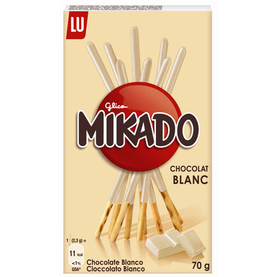 LU Mikado chocolat blanc