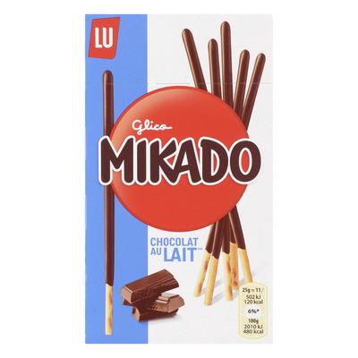 LU Mikado biscuitstokjes melkchocolade