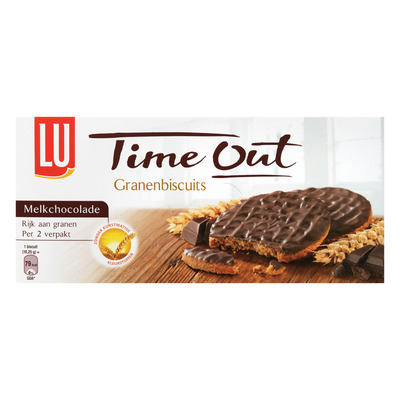 Time Out Granenbiscuits chocolade