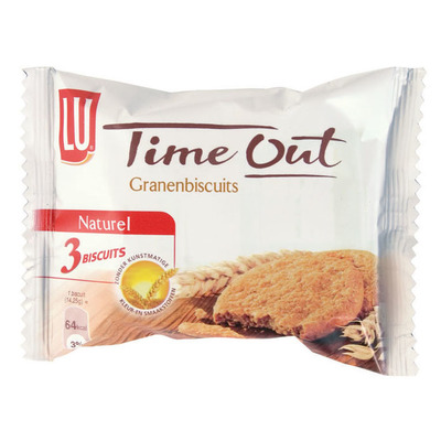 Time Out Granenbiscuit naturel pocketsize
