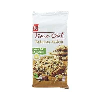 Lu Time  Out Robuuste Koeken Amandel Chocolade