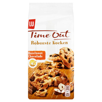 Time Out Robuuste koeken chocolade-noot