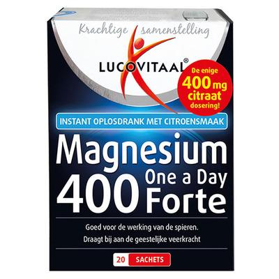Lucovitaal Magnesium 400 mg citraat