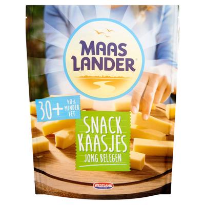 Maaslander Snack kaasjes jong belegen 30+