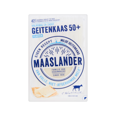 Maaslander Geitenkaas 50+ Plakken