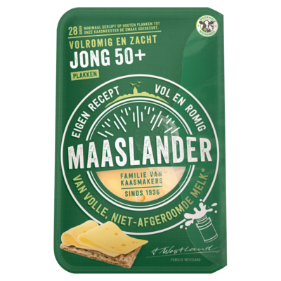 Maaslander 50+ Jong plakken