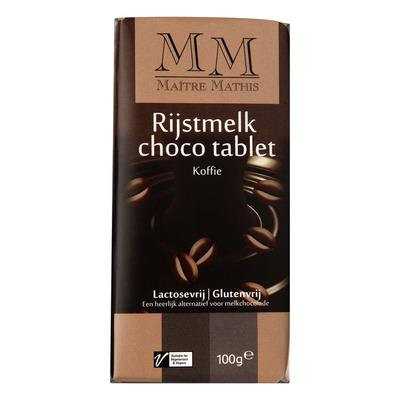Maitre Mathis Rijstmelk choc couvert & kof lactosevrij