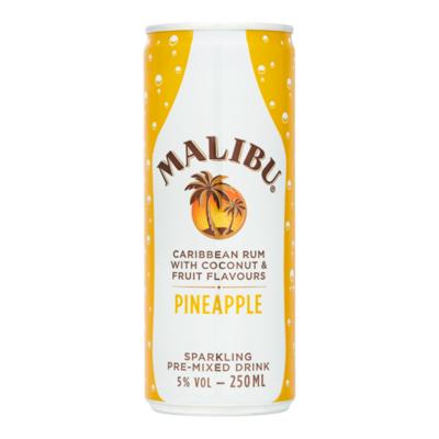 Malibu Pineapple Sparkling Pre-Mixed Drink